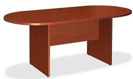 Lorell Oval Conference Table 2