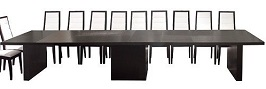 Modern Extending Conference Table
