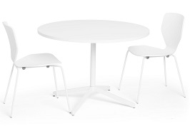 Poppin Touchpoint Meeting Table, 42 2