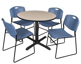 Regency Cain 36-Inch Round Breakroom Table