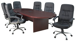 Regency Legacy 120-inch Racetrack Conference Table 2