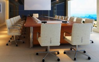 White Conference Room Chairs