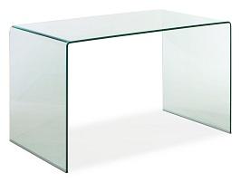 Zuo Modern Caravan Desk, Clear