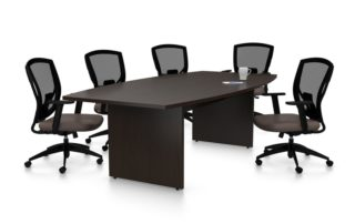Black Conference room table
