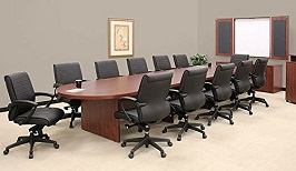 12FT - 26FT Large Conference Room Table 2