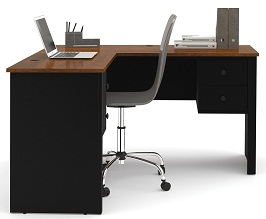 Bestar Somerville L-Shaped Desk 2
