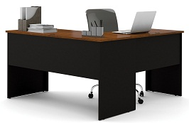 Bestar Somerville L-Shaped Desk 3