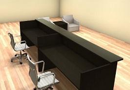 2pc-12-feet-modern-glass-counter-reception-desk-2