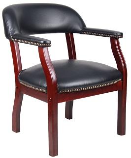 boss-captains-chair-in-black-vinyl
