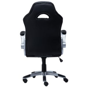 Giantex Pu Leather Executive Racing Style Bucket Seat Chair Sporty side